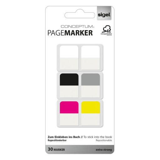 Conceptum Pagemarkers faneblade